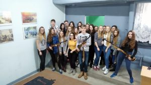 Licealiści zwizytą nastrzelnicy