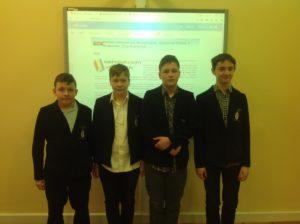 Sukces naszych gimnazjalistów wWojewódzkim Konkursie Przedmiotowym zInformatyki