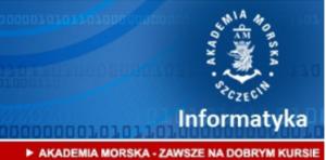 """Michał Piątkowski wyróżniony wkonkursie """"Interaktywny produkt IT"""" Akademii Morskiej wSzczecinie"""
