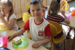 Przedszkolaki świętowały 97.rocznicę urodzin św. Jana Pawła II.