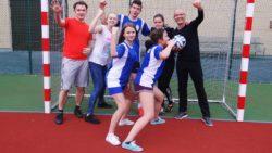 Na sportowo jest zdrowo – gry i zabawy w internacie
