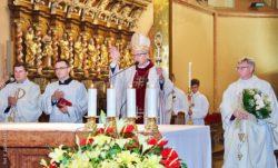 Msza Święta pod przewodnictwem Pasterza Diecezji na zakończenie roku szkolnego