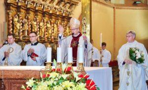 Msza Święta podprzewodnictwem Pasterza Diecezji nazakończenie roku szkolnego
