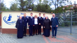 Sodalisi z naszej Szkoły w pielgrzymce do Matki Bożej na Jasną Górę