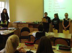 Samorząd Uczniowski SP przypomina o zasadach bezpieczeństwa w drodze do i ze szkoły