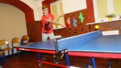 Świąteczny turniej tenisa stołowego w internacie