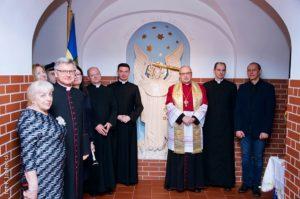 Poświęcenie figury św.Michała Archanioła