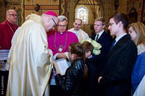 15. rocznica święceń biskupich iingresu dokatedry włocławskiej Księdza Biskupa Wiesława Meringa
