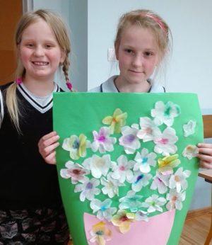 Zajęcia plastyczne inspirowane wiosną
