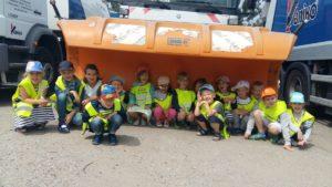 Wizyta przedszkolaków wSaniko
