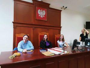 Wizyta w sądzie