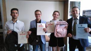 Gala wręczenia nagród idyplomów zedukacji dla bezpieczeństwa