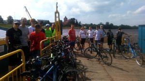 Wyprawa rowerowa klasy IIa gimnazjum