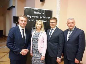 """Inauguracja projektu edukacyjnego """"Historia obywateli polskich wKL Auschwitz"""""""