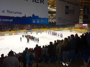 Długoszacy napierwszym wtym sezonie wyjeździe hokejowym