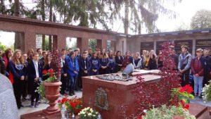 Pielgrzymka uczniów klas trzecich gimnazjum oraz klas ósmych do Lichenia