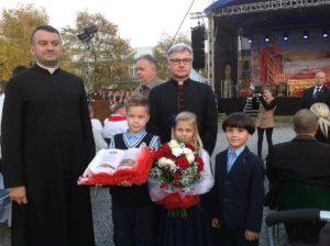 Spotkanie z Prezydentem RP podczas obchodów rocznicy męczeńskiej śmierci bł. ks. Jerzego Popiełuszki