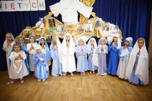 Bal Wszystkich Świętych u przedszkolaków
