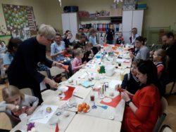 Warsztaty świąteczne z rodzicami uczniów klasy 1a