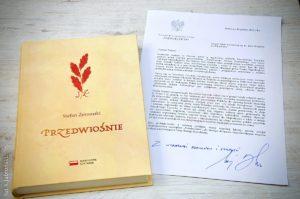 """Narodowe czytanie """"Przedwiośnia"""" Stefana Żeromskiego"""