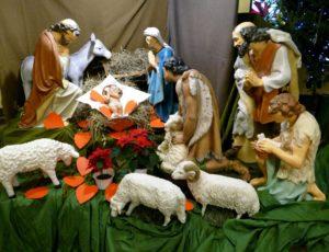 Słoneczka iSówki odwiedzają Jezuska wszopce