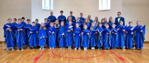 Koncert kolęd wwykonaniu chóru dziecięco – młodzieżowego zeZbrachlina