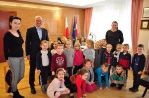 Sówki z wizytą u Prezydenta Włocławka