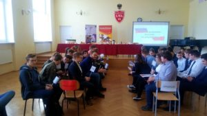 Nasi licealiści wzięli udział w debacie o stosunkach polsko-rosyjskich