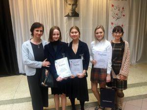 Uczennice Długosza nagrodzone w Wojewódzkim Konkursie Poezji Krzysztofa Kamila Baczyńskiego