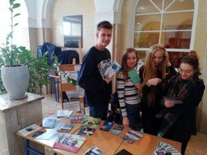 Stoisko edukacyjne w Długoszu