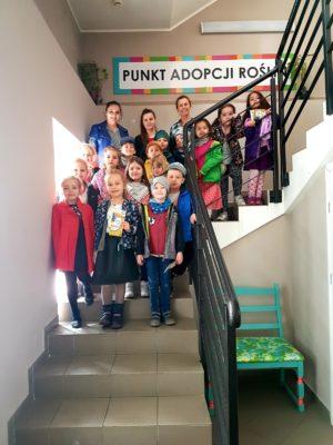"""Wizyta """"Sówek"""" wWłocławskim Centrum Organizacji Pozarządowych iWolontariatu"""