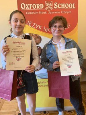 Podwójne zwycięstwo w konkursie Oxford Challenge