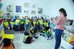 Wizyta przedszkolaków wksięgarni