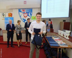 """Gala laureatów konkursu """"Bieg poindeks"""" – Koszalin"""