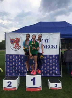 Złota medalistka – Klaudia Kazimierska