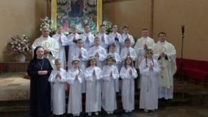 Pierwsza Komunia św. uczniów III klasy