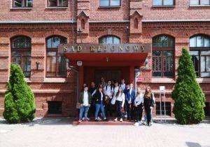 Uczniowie z wizytą w Sądzie Rejonowym we Włocławku