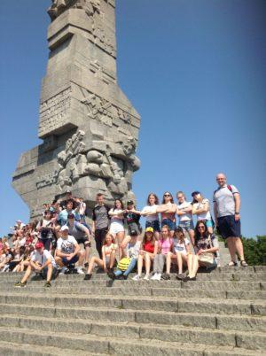 Ku chwale Polskich Obrońców Westerplatte – wycieczka klasy 7b do Gdańska