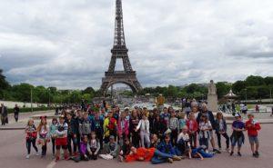 Bonjour! Bienvenue à Paris – młodzi długoszacy w Paryżu