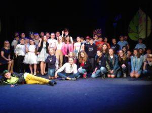 Z okazji Dnia Dziecka poszliśmy to teatru i na lody!