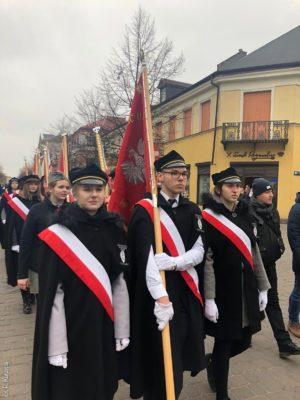 Uroczystości 101. rocznicy odzyskania niepodległości przezPolskę
