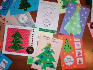 """Świąteczna akcja """"Podaruj kartkę, podaruj uśmiech."""""""