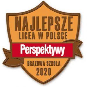 Kolejny raz Brązowa Tarcza dla Długosza w Rankingu Perspektyw!