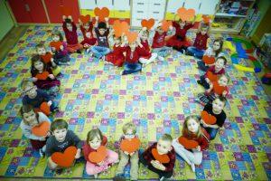 Dzień Świętego Walentego u przedszkolaków