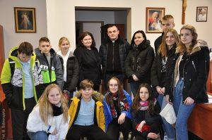 Z dobroczynną wizytą w Caritas Diecezji Włocławskiej