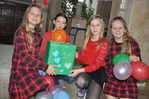 Poczta Walentynkowa Szkolnego Koła Wolontariatu Mały Książę