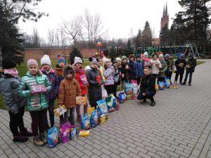 Akcja charytatywna w Małym Długoszu