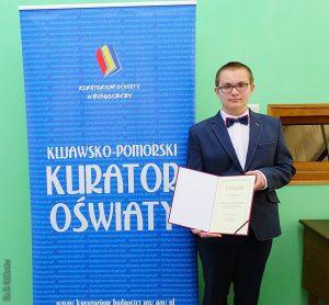 Krzysztof Ostrowski – stypendysta MEN