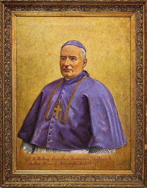 Portret Biskupa Stanisława Zdzitowieckiego z 1914 roku
