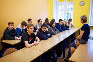 Zajęcia z doradztwa zawodowego dla uczniów liceum